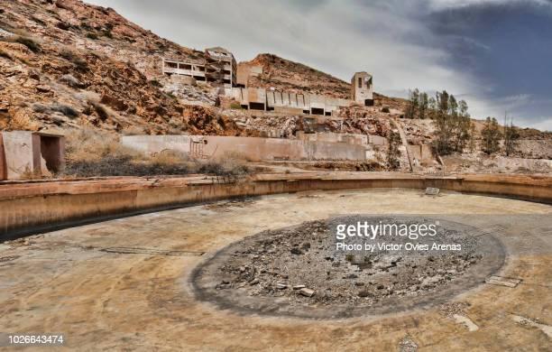 Abandoned gold mines of Rodalquilar, Cabo de Gata, Almeria, Spain