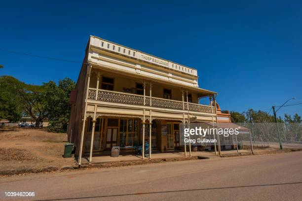 abandoned gold mining town - town stock pictures, royalty-free photos & images