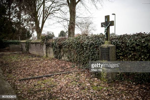 Abandoned graveyard is seen on January 9 2018 in Immerath Germany The village of Immerath will be completely razed in order to make way for the...