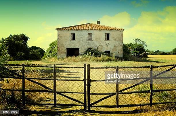 Abandoned Grunge Farmhouse