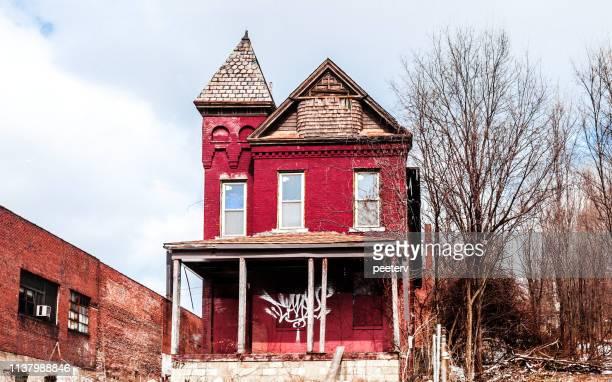 Abandoned home in Pittsburgh, PA