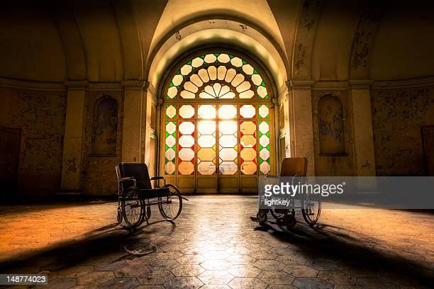 Abandoned Hospital Hall