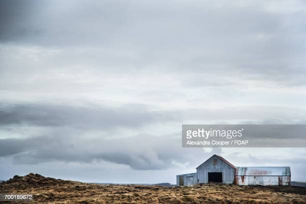 abandoned house in iceland - alexandra cooper stock photos and pictures
