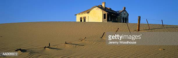 Abandoned House in Kolmanskop Mining Town