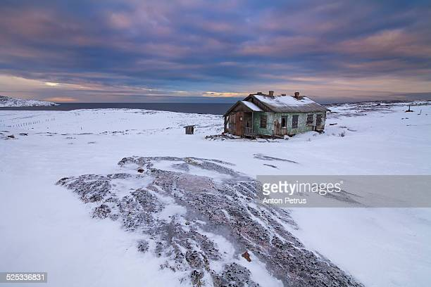 Abandoned house in the north