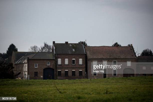 Abandoned houses are seen on January 9 2018 in Immerath Germany The village of Immerath will be completely razed in order to make way for the...