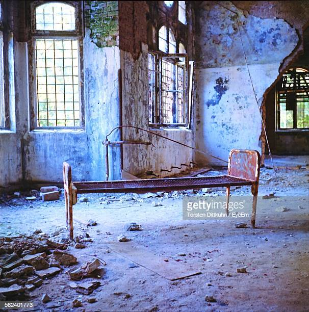 Abandoned Interior With Windows