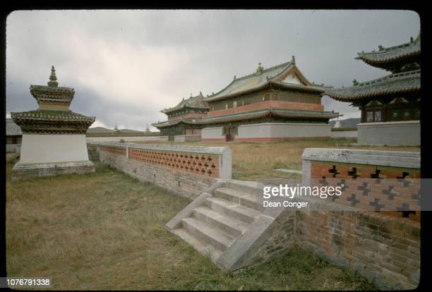 Abandoned Lamasery in Mongolia