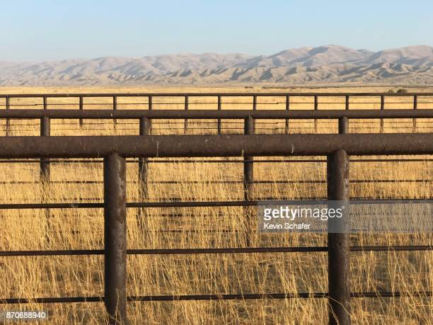 Abandoned livestock pen, Carrizo Plain, California