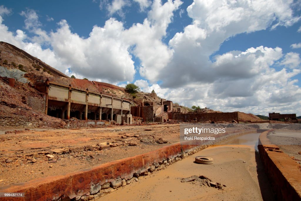 Abandoned Mine : Foto de stock
