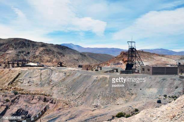 abandoned mining plant in salta province, argentina - サルタ州 ストックフォトと画像