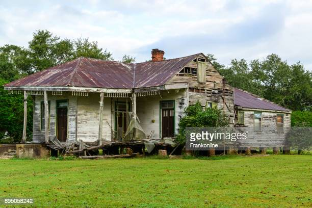 Abandoned Mississippi Plantation House