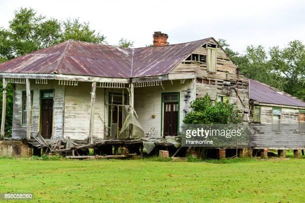 Abandoned Mississippi Plantation House