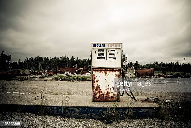 Abandoned oil station