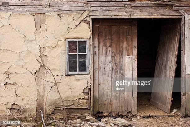 Abandoned old village house. High Details.