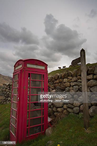 abandoned phone box - s0ulsurfing stock pictures, royalty-free photos & images