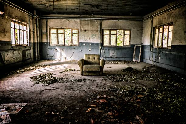 abandoned - haunted stock photos and pictures