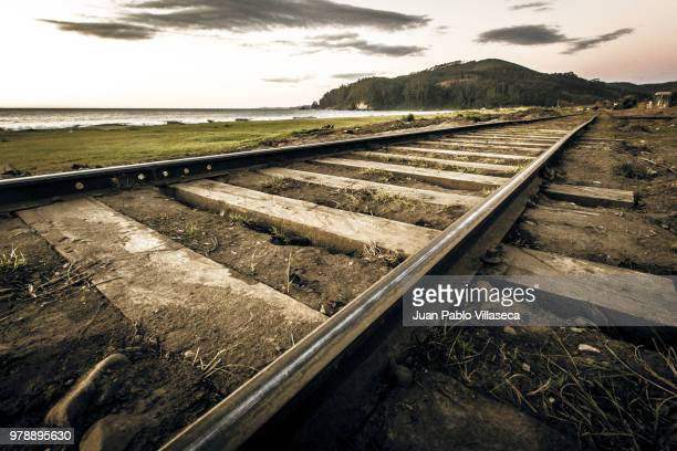 abandoned railroad - concentration camp stock photos and pictures