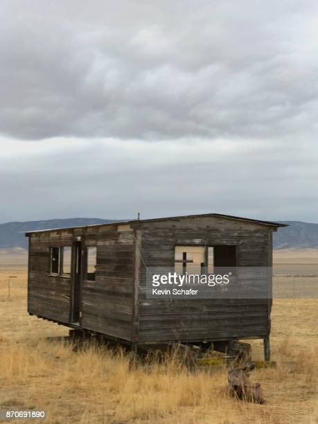 Abandoned ranch house, Carrizo Plain National Monument