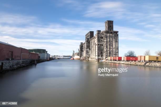 Abandoned Red Hook Grain Terminal