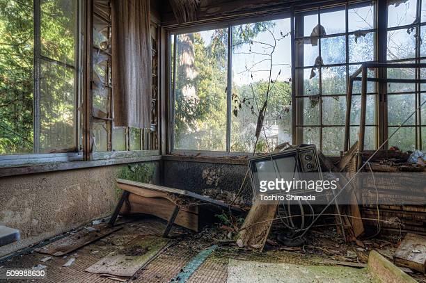 A abandoned room