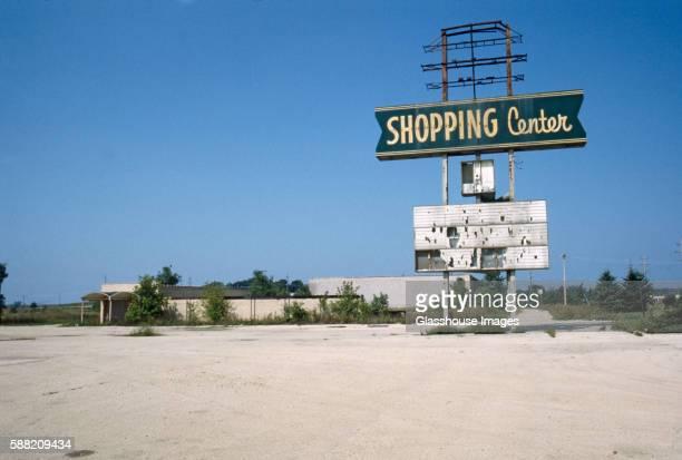 Abandoned Shopping Center, Illinois, USA