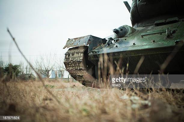 abandoned tank - armored tank stock photos and pictures