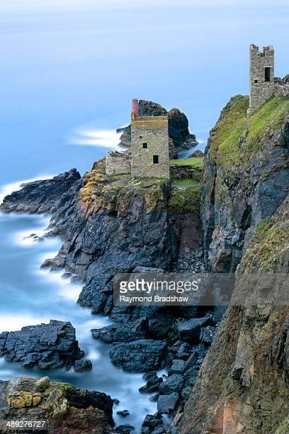 CONTENT] Abandoned Tin Mine near Botallack UNESCO World Heritage Site and rocky coast Cornwall England United Kingdom Europe
