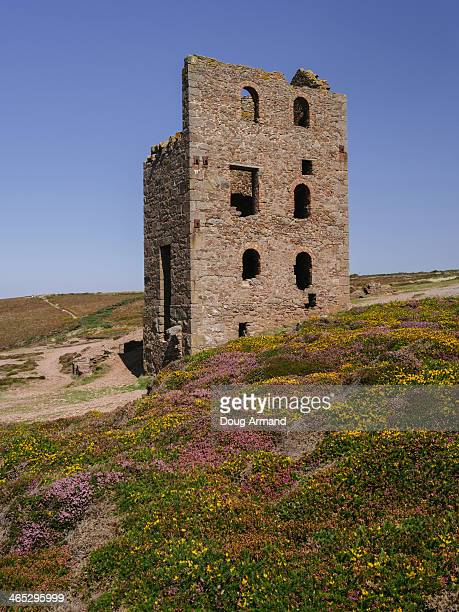 Abandoned Tin Mines near Bottalack, Cornwall