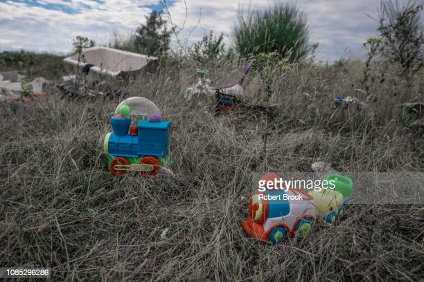 abandoned toys - merseyside stock pictures, royalty-free photos & images