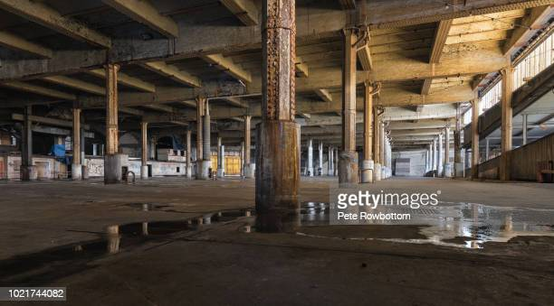 abandoned warehouse - abandoned stock pictures, royalty-free photos & images