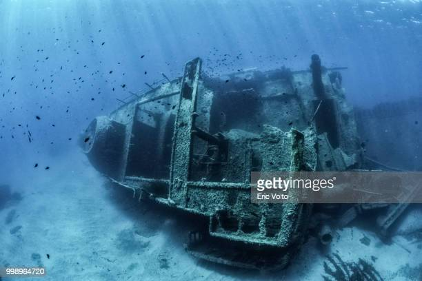 abandoned wreck - sunken stock pictures, royalty-free photos & images