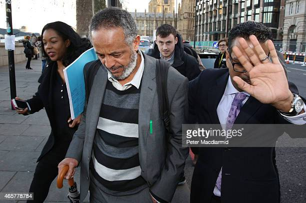 Abase Hussein father of Amira Abase Leaves parliament after attending the Home Affairs Select Committee on March 10 2015 in London England Three...
