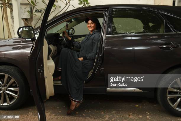 'Abayas will get shorter' said successful fashion designer Eman Joharjy with a smile when asked that the future holds for Saudi Arabia as she models...