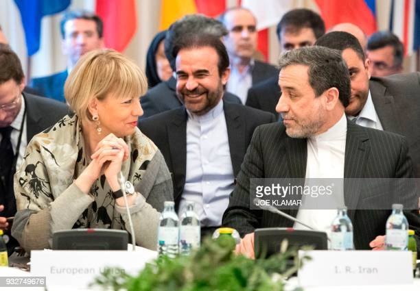 Abbas Araghchi political deputy at the Ministry of Foreign Affairs of Iran and the Secretary General of the European Union External Action Service...