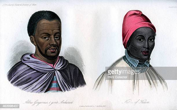 Abbas Gregorius and a native of Hausa 1848 Portraits of Abbas Gregorius the celebrated instructor of Ludolf an Amhara from Ethiopia and native of...