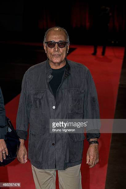 Abbas Kiarostami attends the closing ceremony 7th Lumiere Film Festival on October 18 2015 in Lyon France