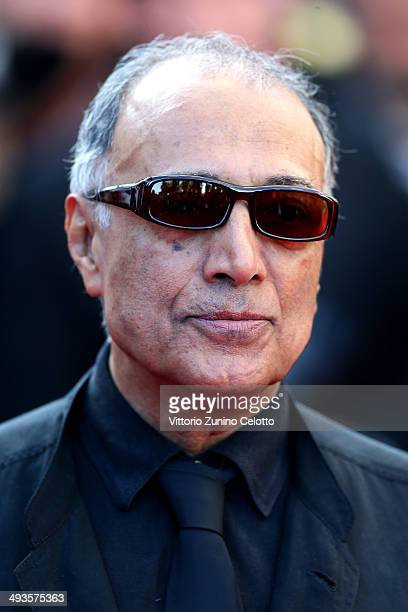 Abbas Kiarostami attends the Closing Ceremony and 'A Fistful of Dollars' screening during the 67th Annual Cannes Film Festival on May 24 2014 in...