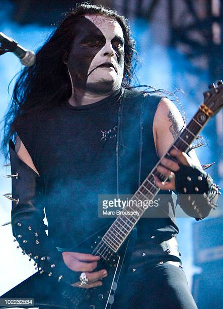 Abbath Doom Occulta of Immortal performs onstage at Hellfest Festival on June 19 2010 in Clisson France