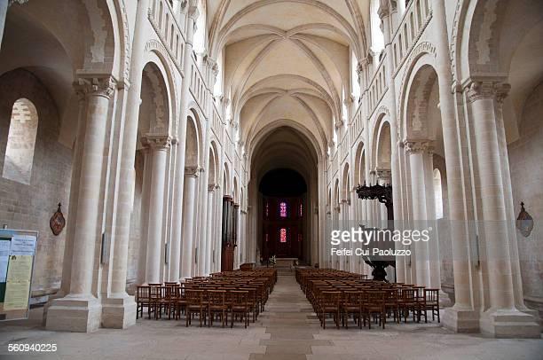 Abbaye aux Dames Sainte-Trinité church Caen, Normandy , France
