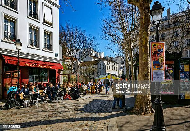 Abbesses Public Square in Paris