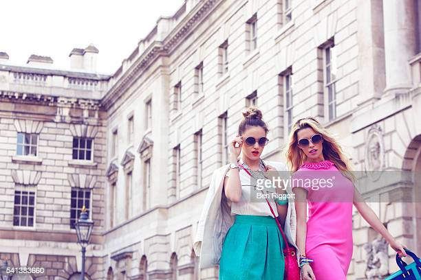 Abbey and Elle Clancy are photographed for Cosmopolitan Magazine on April 11 2012