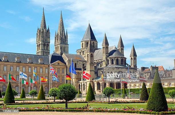Abbey at Caen, France