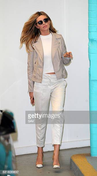 Abbey Clancy at The ITV Studios on May 17 2016 in London England