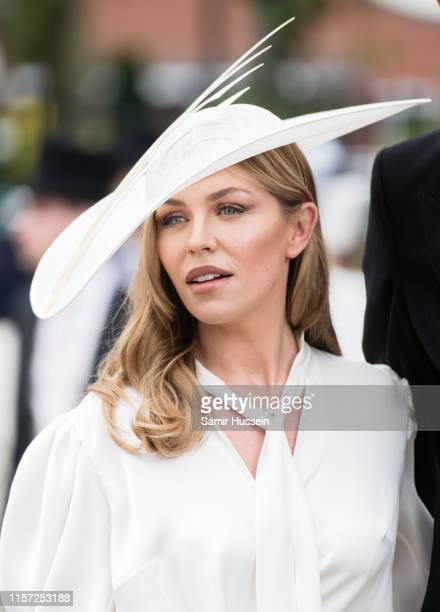 Abbey Clancy attends day three Ladies Day of Royal Ascot at Ascot Racecourse on June 20 2019 in Ascot England