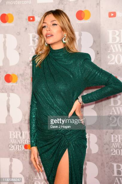 XXX attends The BRIT Awards 2019 held at The O2 Arena on February 20 2019 in London England