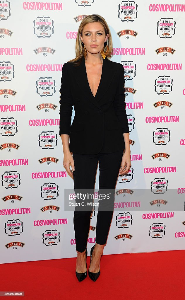 Abbey Clancy attends the Cosmopolitan Ultimate Women of the Year Awards at One Mayfair on December 3, 2014 in London, England.