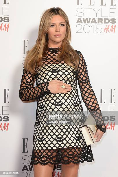 Abbey Clancy attends the Elle Style Awards 2015 at Sky Garden @ The Walkie Talkie Tower on February 24 2015 in London England