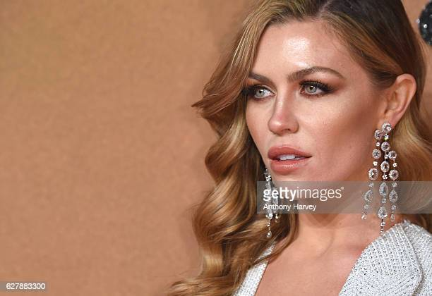 Abbey Clancy attends The Fashion Awards 2016 on December 5 2016 in London United Kingdom