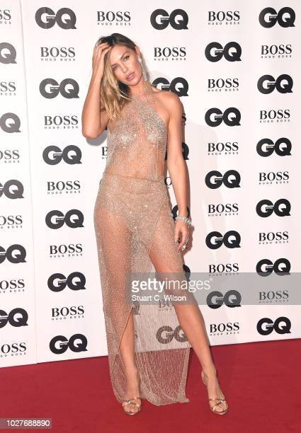 Abbey Clancy attends the GQ Men of the Year awards at the Tate Modern on September 5 2018 in London England